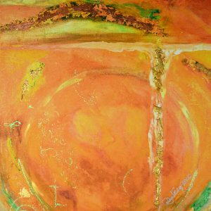 Orange Portal by Joanne Macko