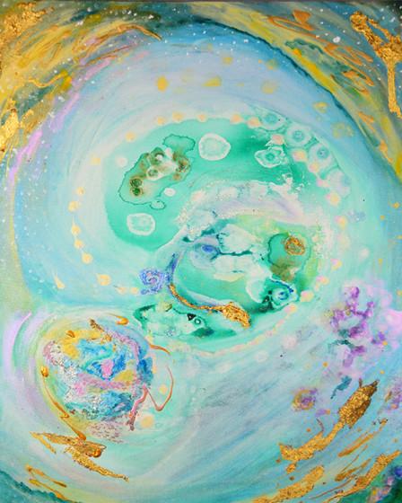 Blue Portal by Joanne Macko