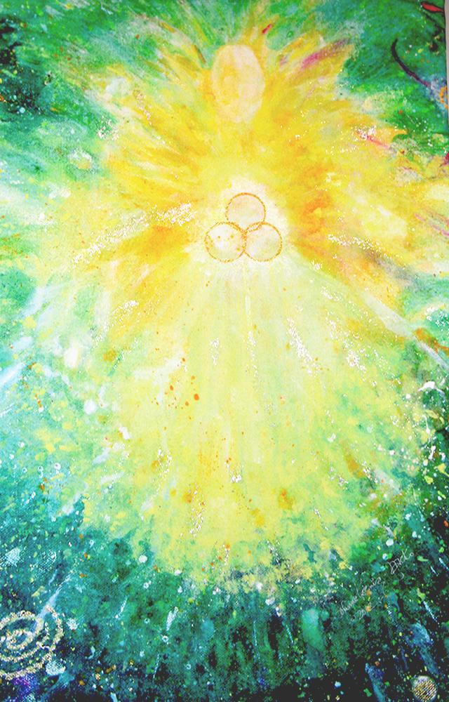 Yellow Angel by Joanne Macko
